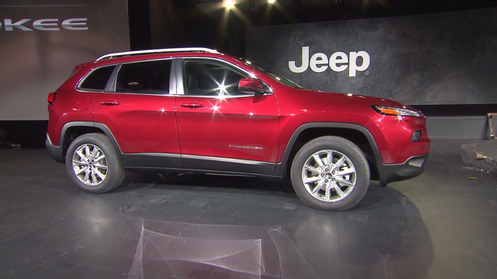 Jeep Cherokee: New look, more power