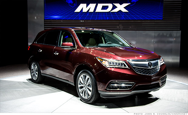 Новая Acura MDX
