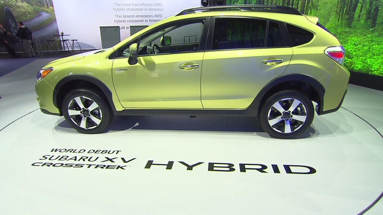 Subaru Crosstrek Hybrid keeps 4WD cred  Video  Personal Finance