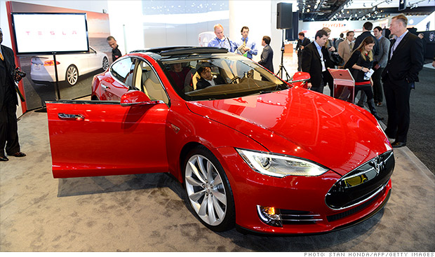 tesla model s profits