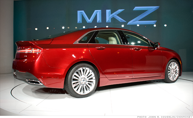 2013 lincoln mkz rear side