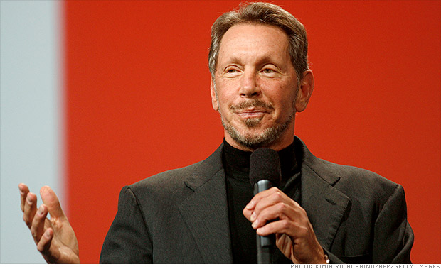 larry ellison oracle