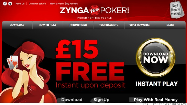 zynga plus poker