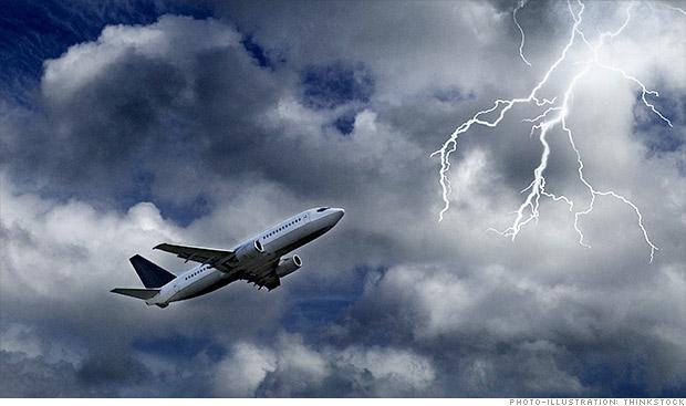 El cambio climático provocará más turbulencias en los vuelos, según estudio