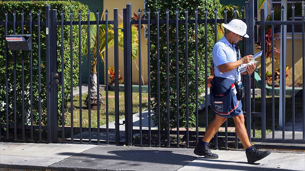 postal service saturday