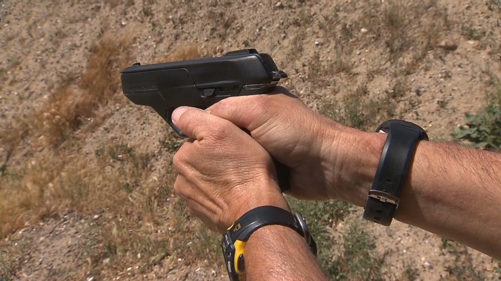 'Smart gun' won't work in the wrong hands