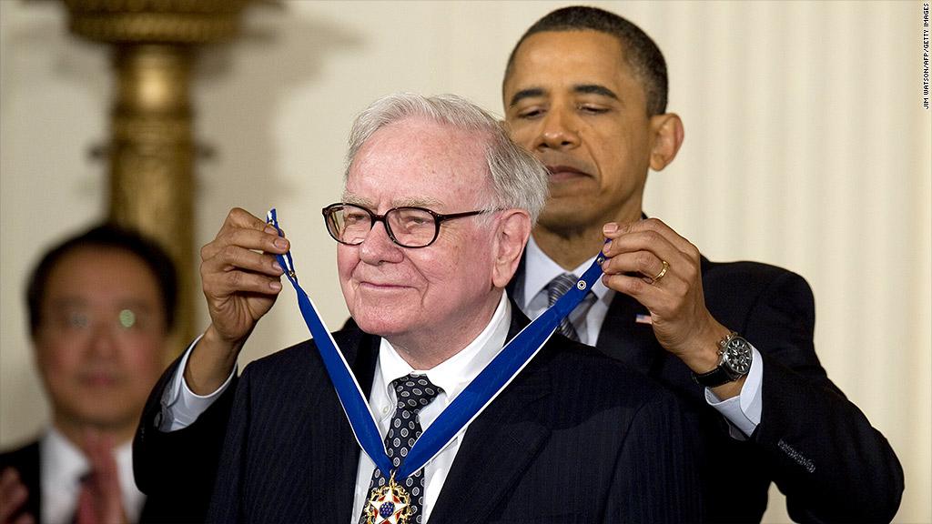 obama buffett medal