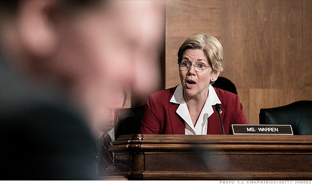 elizabeth warren foreclosure hearings