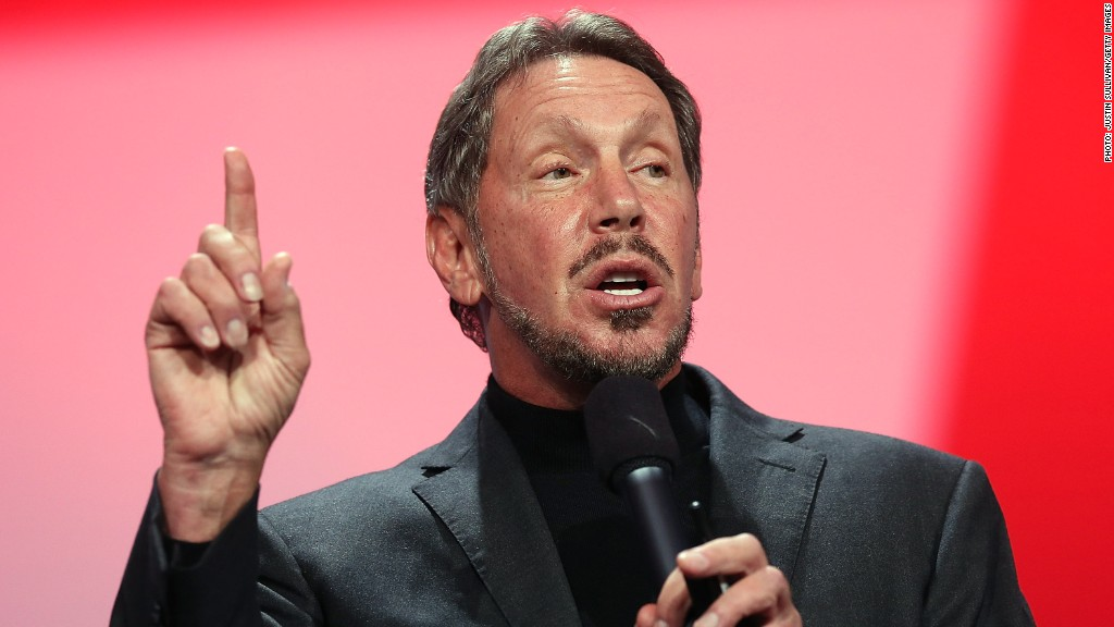 larry ellison oracle ceo top pay