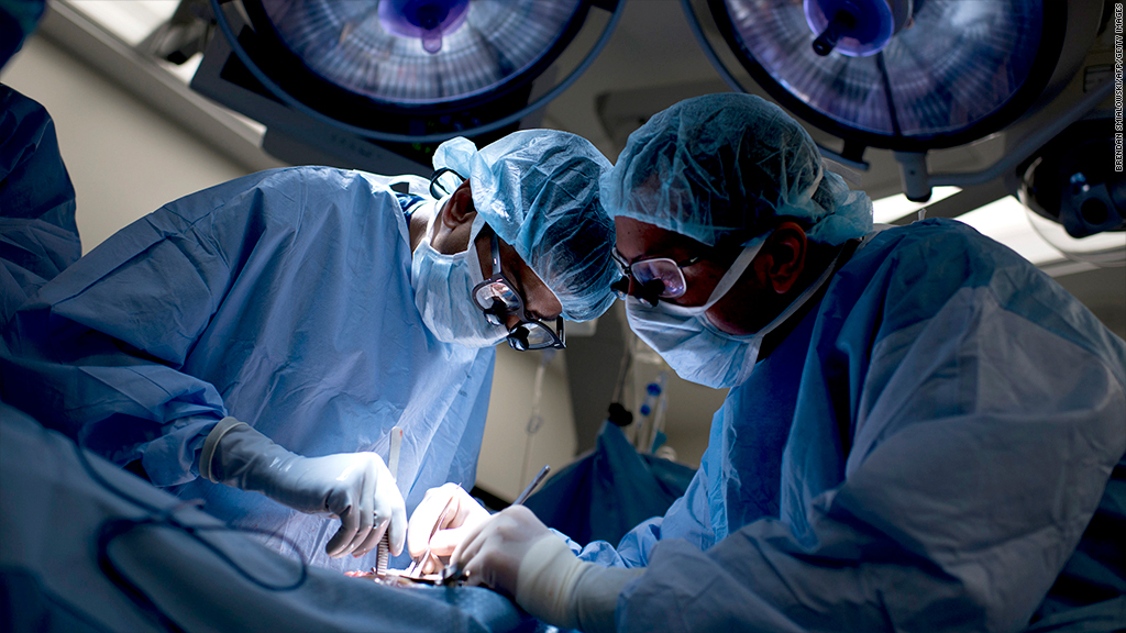 surgical complications hospital cost