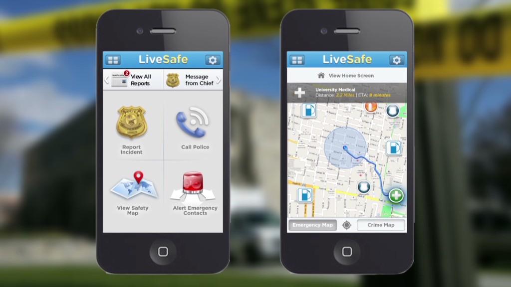 Shooting victim creates app to save lives