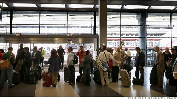 airline delays furloughs