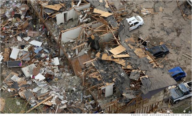 west texas devastation
