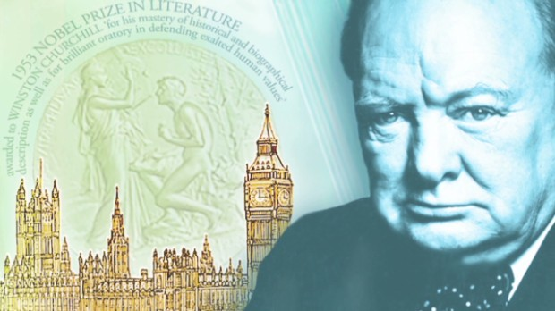Churchill to be on new £5 note