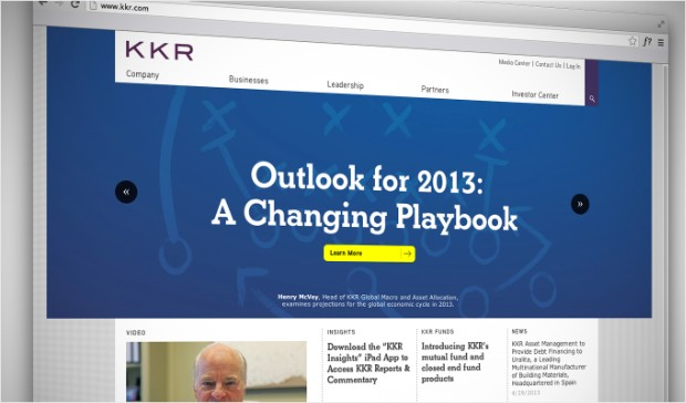 kkr website
