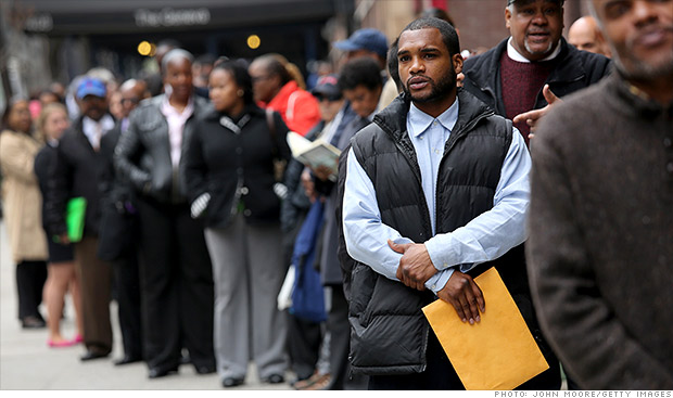 Fewer Americans are unemployed long-term