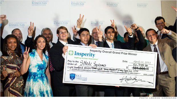 RIC20 rice business plan winner sinode systems