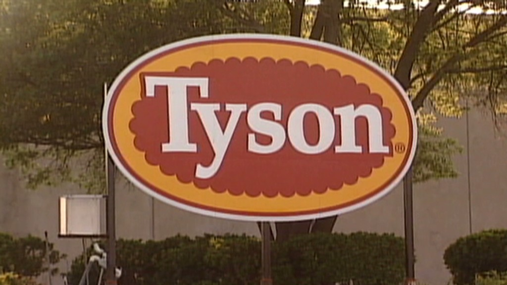 Investors take a bite out of Tyson