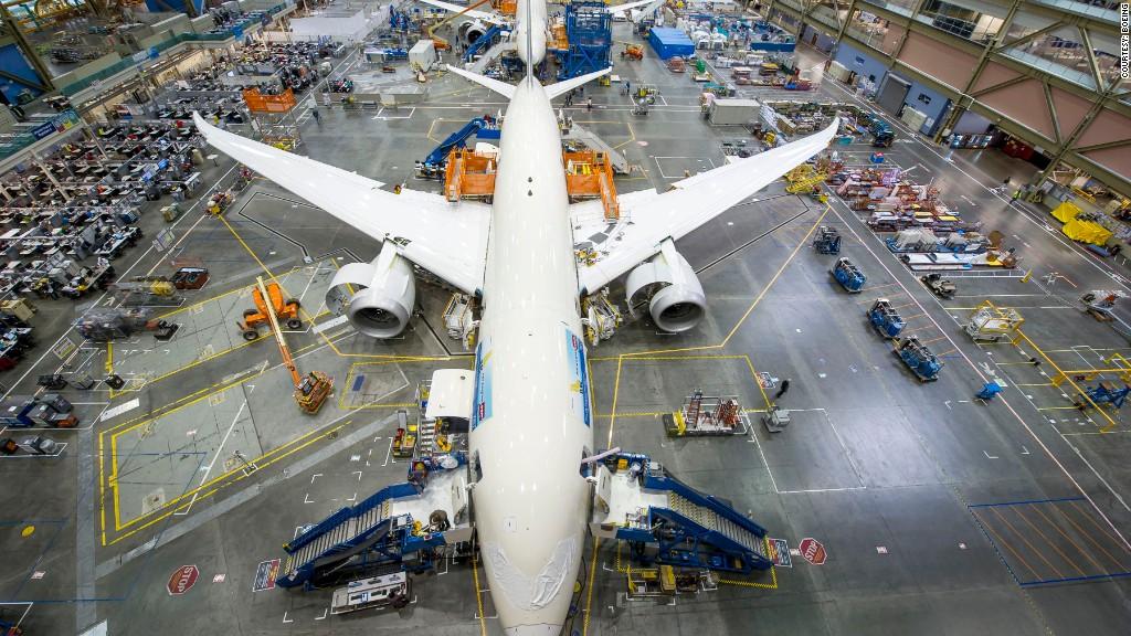 boeing dreamliner production