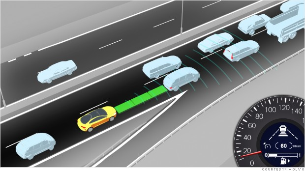 auto assists adaptive cruise control