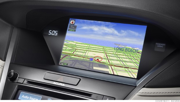 auto assists navigation system