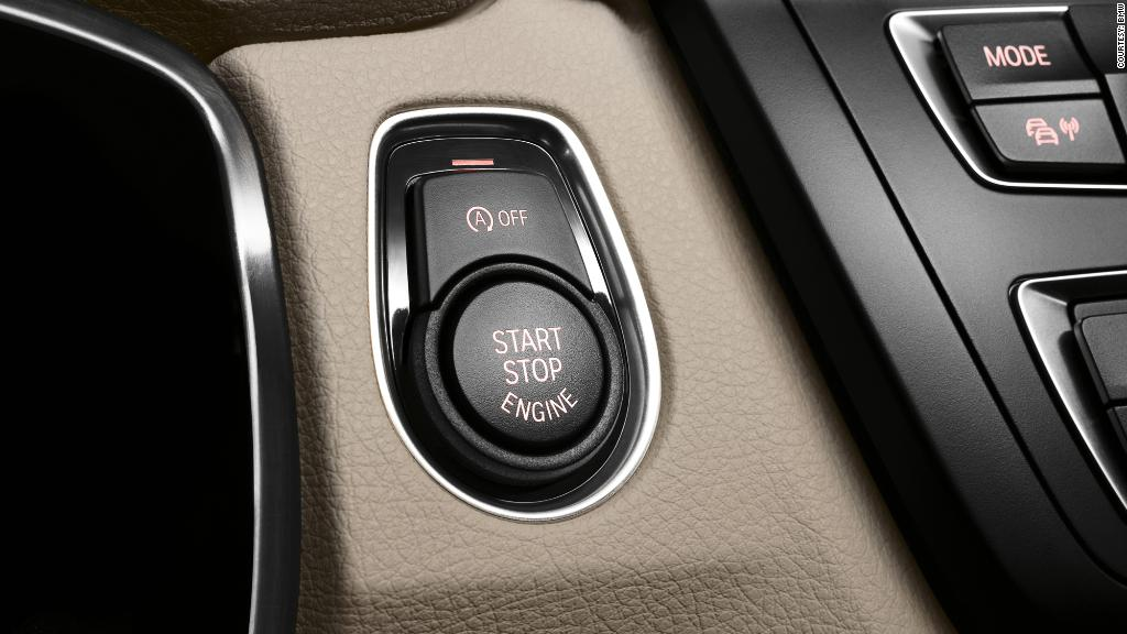 Push-button start contributing to carbon monoxide poisoning