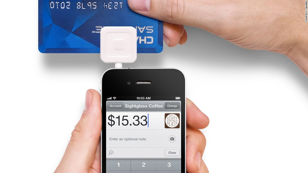 square transaction