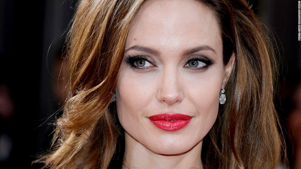 angelina jolie double masectomy