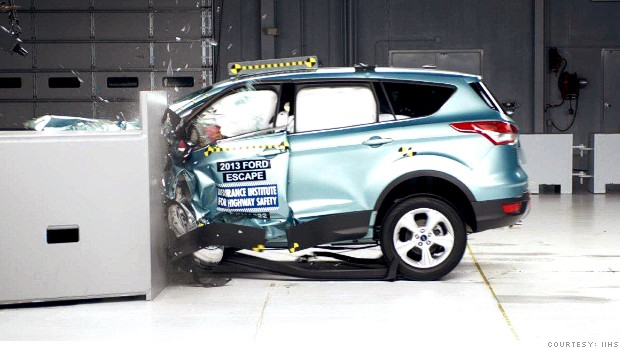 Ford Escape Hyundai Tucson Suvs Do Poorly In Crash Test