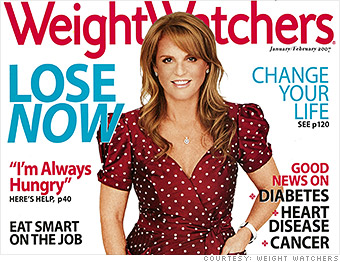 sarah ferguson weight watchers