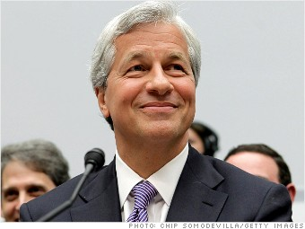 ten highest paid ceos jamie dimon