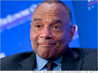 ten highest paid ceos ken chenault
