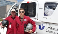 Giving up cushy gigs to save lives in mid-air