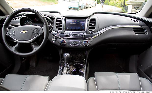 nicer inside chevy impala big american car done right cnnmoney