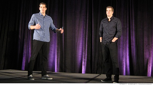 The Winklevoss twins are Bitcoin bulls