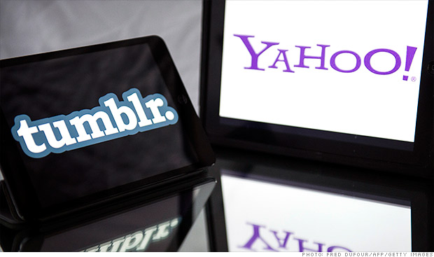 Yahoo buying Tumblr