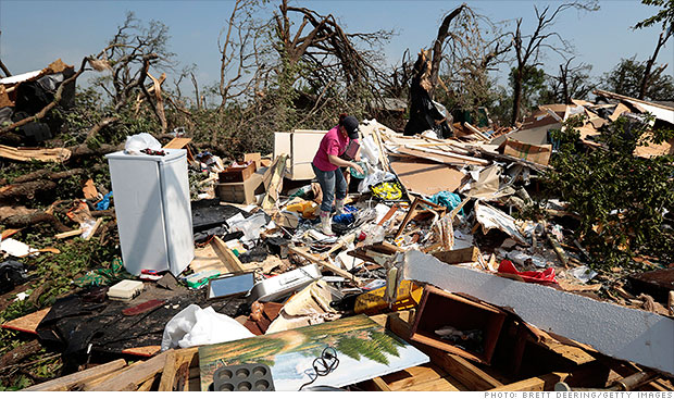 Tornado victims may face long haul with insurers