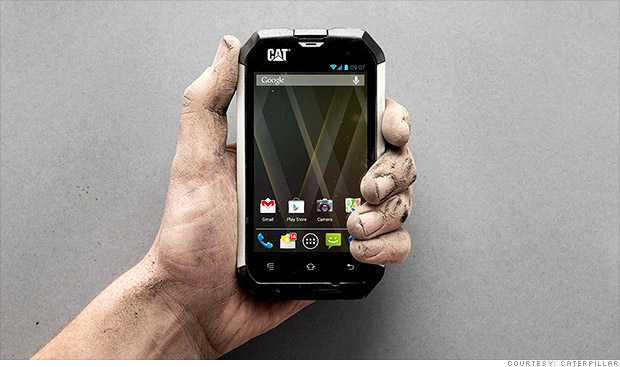 Insanely durable smartphone ... from Caterpillar?