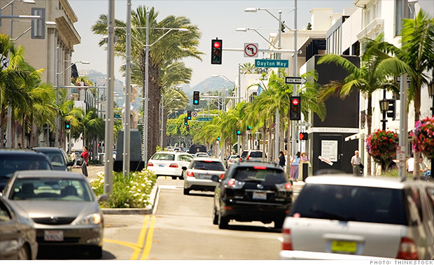 ten fastest growing cities los angeles