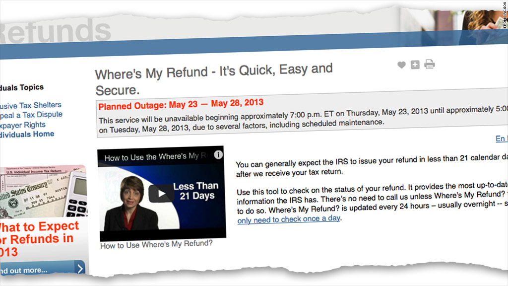 irs outage