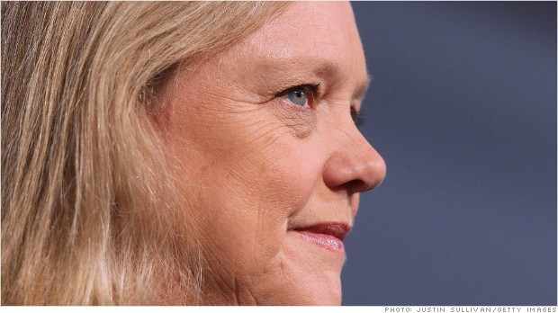 HP soars as Meg Whitman turnaround continues