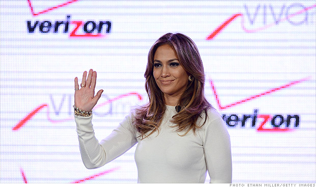 jennifer lopez ctia verizon viva