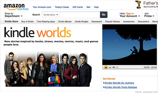 amazon kindle worlds