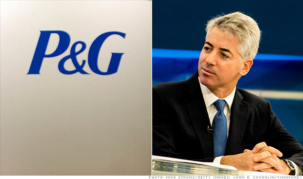 bill ackman procter and gamble
