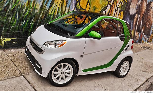Smart Electric Drive Tesla Alternatives Four Cheap