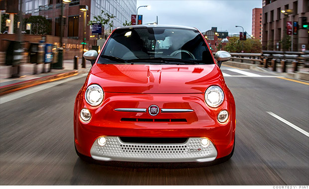 No Money Down Lease Deals >> Fiat 500e - Tesla Alternatives: Four cheap electric cars ...