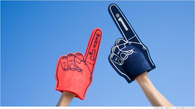 car rankings foam fingers