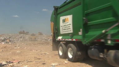 Where Waste Management can't collect trash