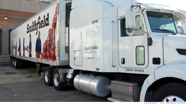 smithfield food truck