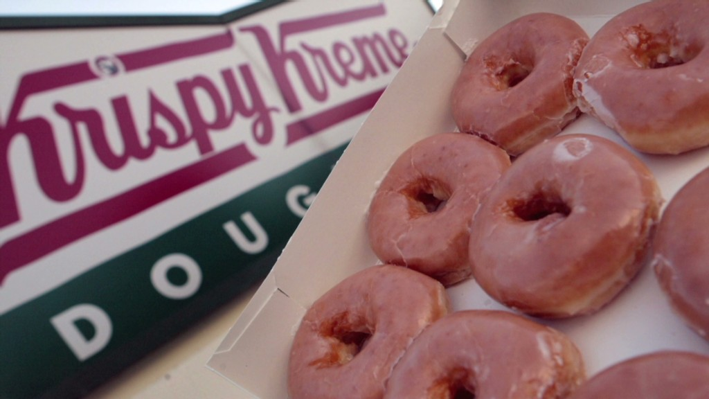 Krispy Kreme soars: No holes in this stock